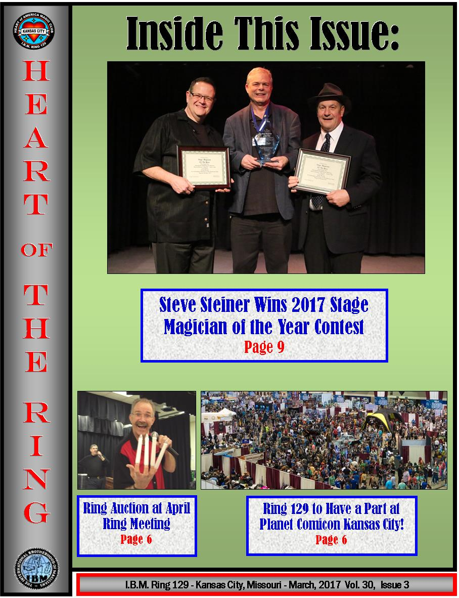 Ring 129 March 2017 Newsletter