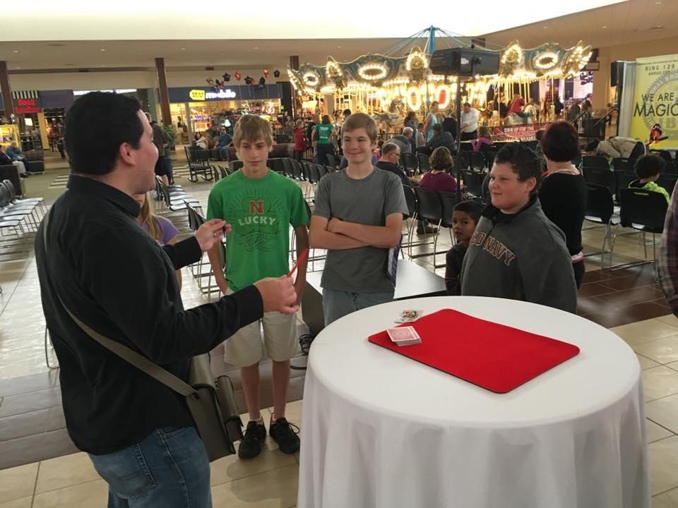 Magic at the Mall!