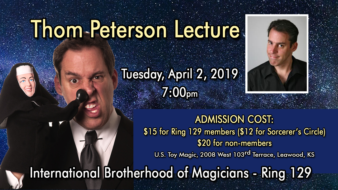 Thom Peterson Lecture